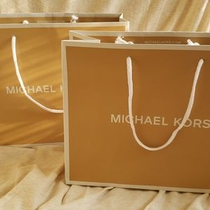 Pair of 2 brand new Michael Kors shopping totes